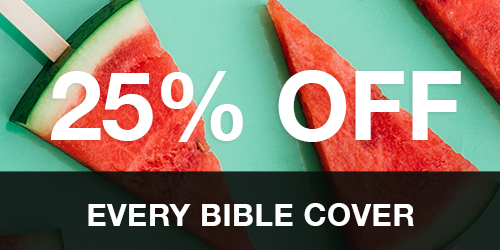 25% Off Every Bible Cover